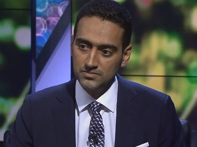 Waleed Aly on last night's program.