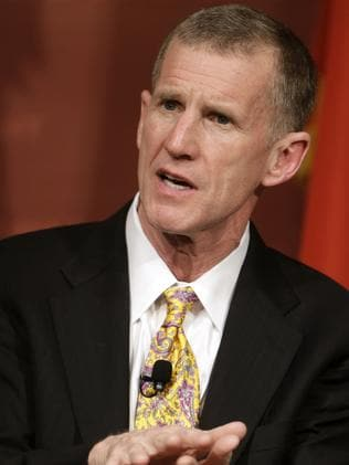 Retired US Army Gen. Stanley McChrystal. Picture: AP