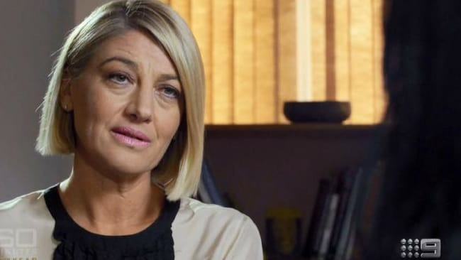 60 Minutes' Tara Brown, spoke to Islam Mitat. Picture: Channel 9. Source: Supplied