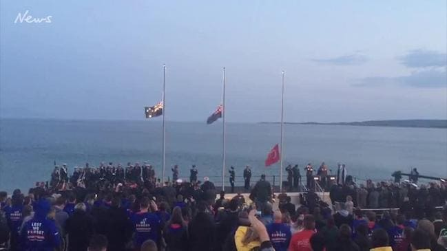 Dawn Service at Gallipoli 2018