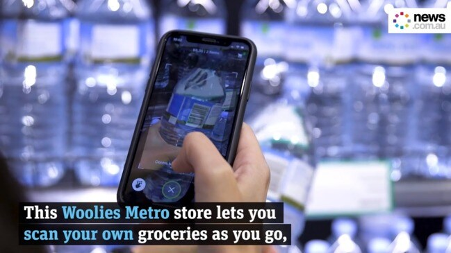 Woolworths 'scan and go' smartphone shopping