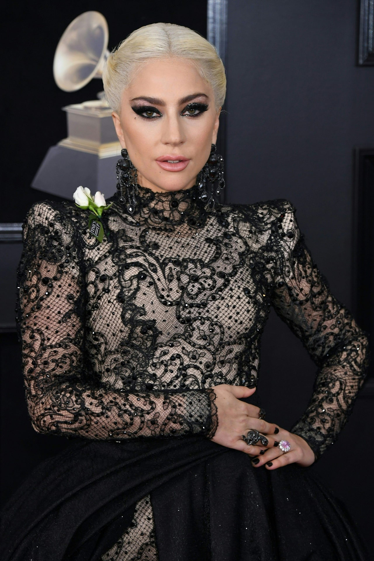Did Lady Gaga just confirm her engagement?