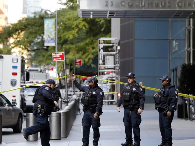 Suspicious packages have been sent to multiple targets, including Barack Obama, Hillary Clinton and New York governor Andrew Cuomo. Picture: AP Photo/Richard Drew