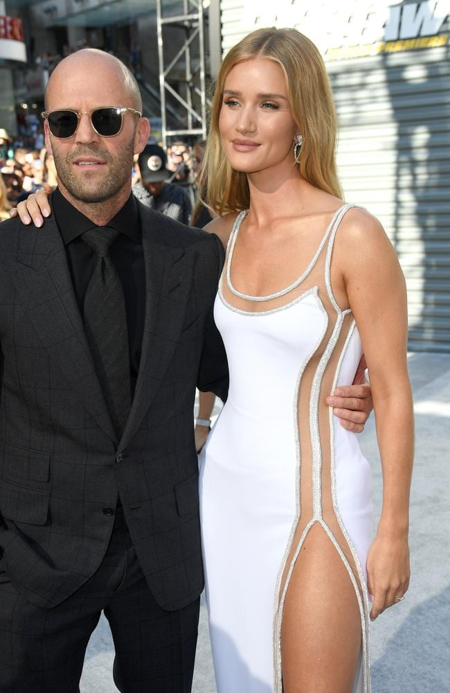 Jason Statham and Rosie Huntington-Whiteley. Picture: Getty