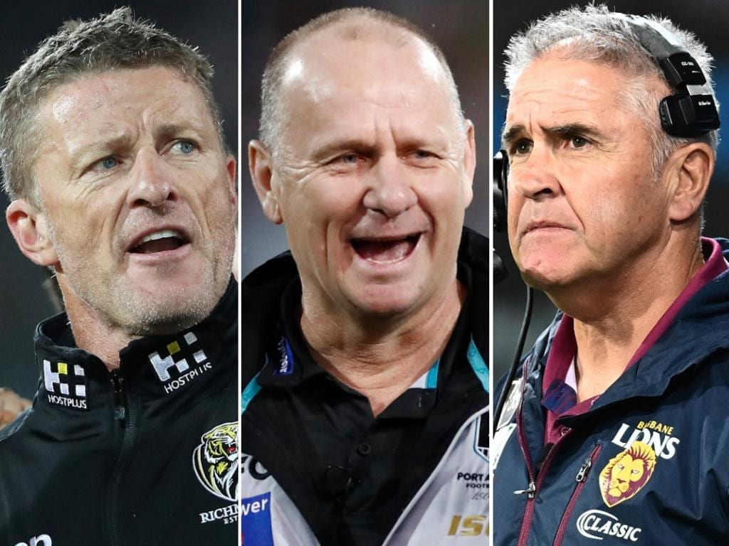 The AFL Coaches' Association has voted on their Coach of the Year.