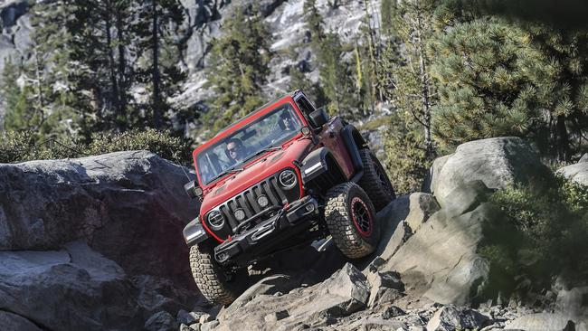 The Jeep Wrangler Rubicon is the most off-road focused version in the range.