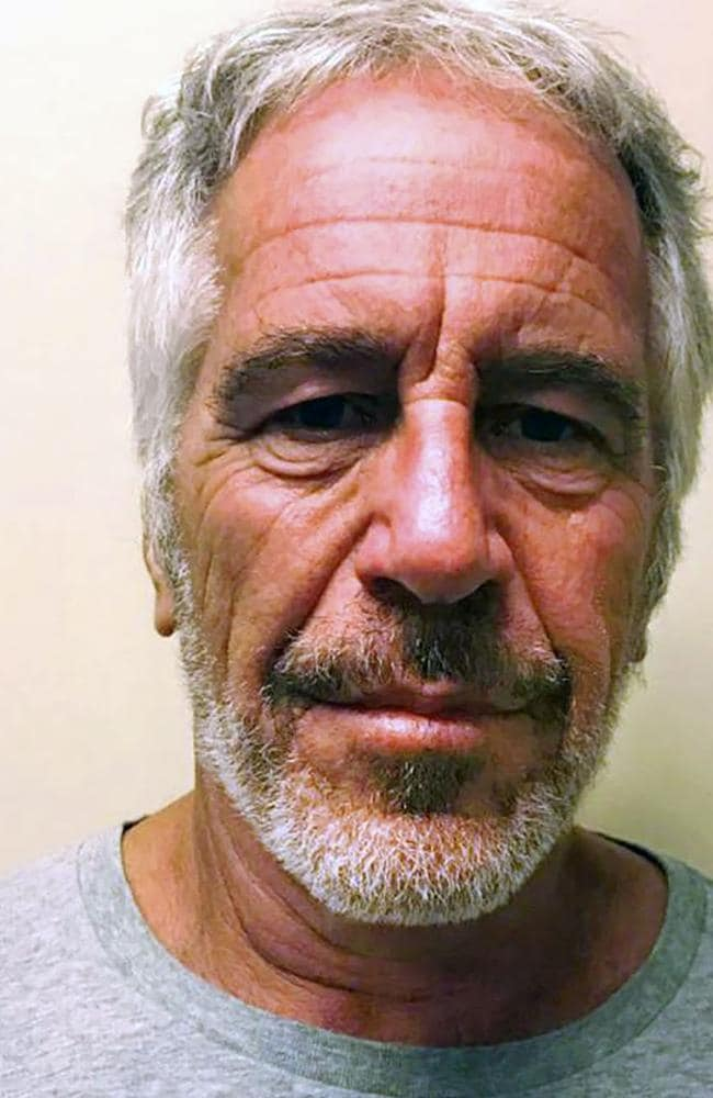Preliminary findings from a post mortem examination showed disgraced financier Jeffrey Epstein had multiple breaks in his neck, including the hyoid. Picture: New York State Sex Offender Registry
