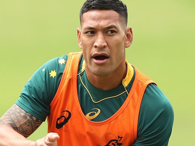 Israel Folau intends to play on.