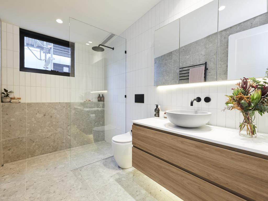 The bathroom was a standout. Picture: Channel 9