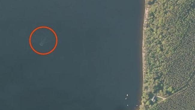 Actual size ... the image located by Andrew Dixon on Apple Maps.