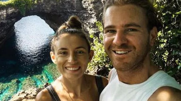 Jolie King and Mark Firkin have been released from jail in Iran. Picture: Supplied