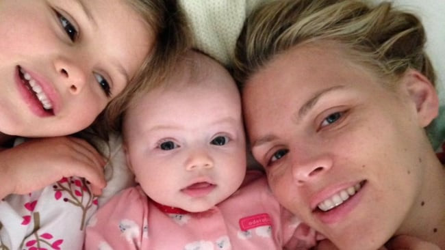 Busy Philipps now has two daughters. Source: Instagram