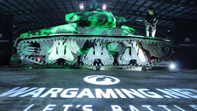The tank will be displayed at a museum in Cairns.