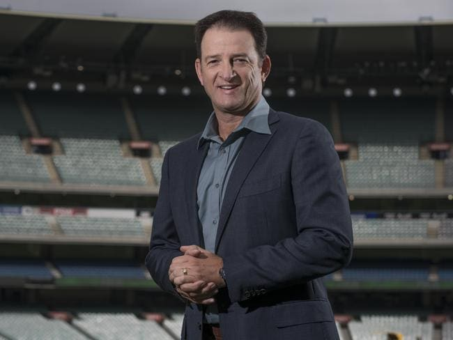 Mark Waugh will be behind the mic from now on.