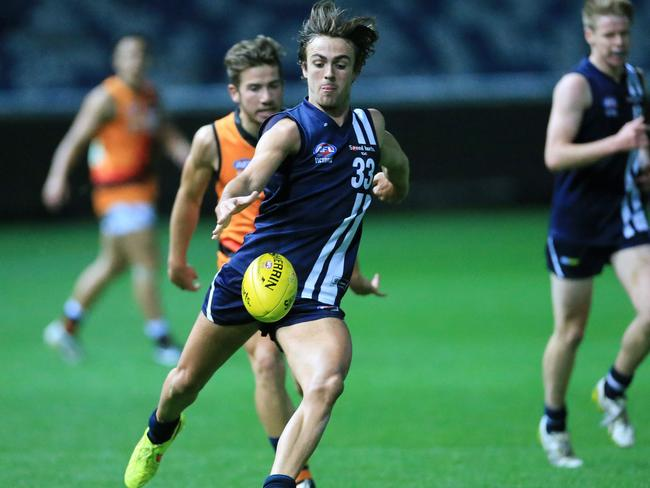 Rhys Mathieson would suit a club like St Kilda. Picture: Peter Ristevski.
