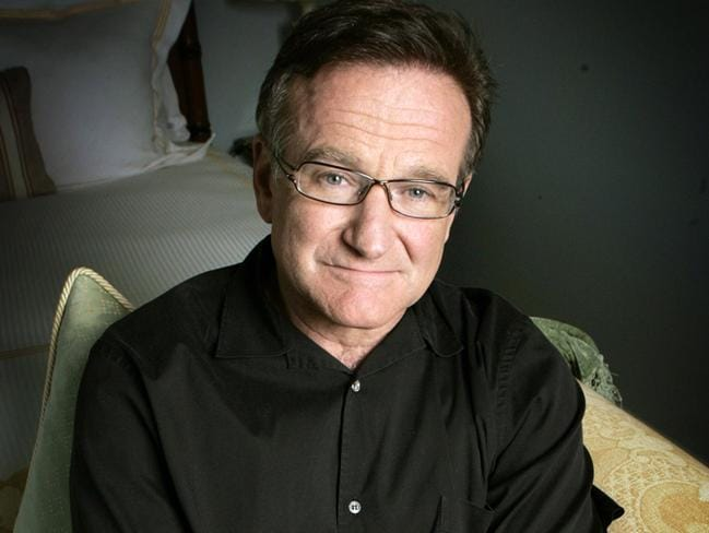 Readers were shocked and saddened to learn of the death of Robin Williams in August. Picture: AP / Reed Saxon.