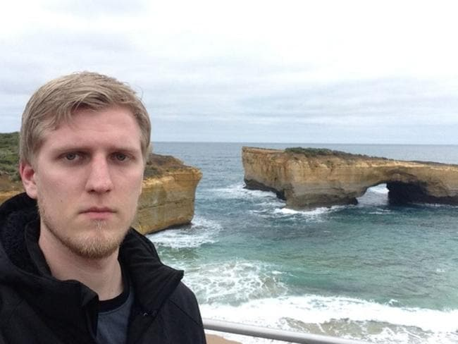 """Heard the Great Ocean Road was amazing, was just some stupid rocks."" Picture: Boedith/Imgur"