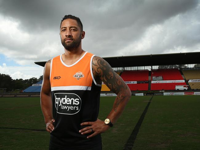Benji Marshall is back at Concord. Picture: Richard Dobson