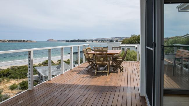 Jill Luscombe's beach house that she rents out in McCracken. Picture: Matt Loxton