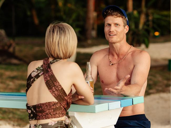 Alex Nation and Richie Strahan on the new season of Channel 10's Bachelor in Paradise.