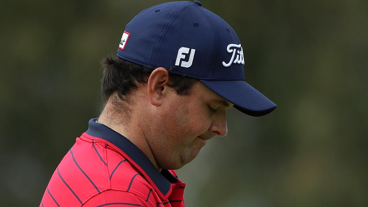 Patrick Reed during the final round of the Farmers Insurance Open.