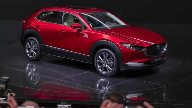 The Mazda CX-30 is due to arrive in 2020.