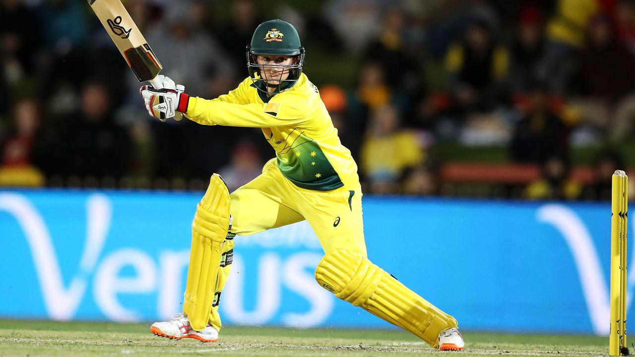 Rachael Haynes of Australia bats during game one of the International Twenty20 series between Australia and New Zealand on September 29, 2018 in Sydney, NSW. Picture: Getty Images