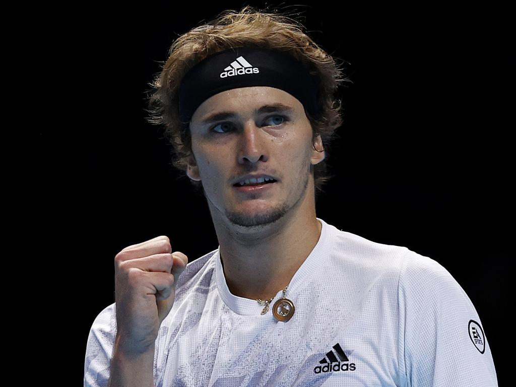 Alexander Zverev got his first win of the ATP Finals.