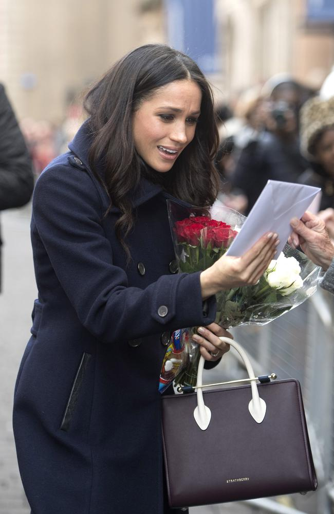 Meghan Markle s  880 Strathberry tote sells out in minutes f2a01ce47c