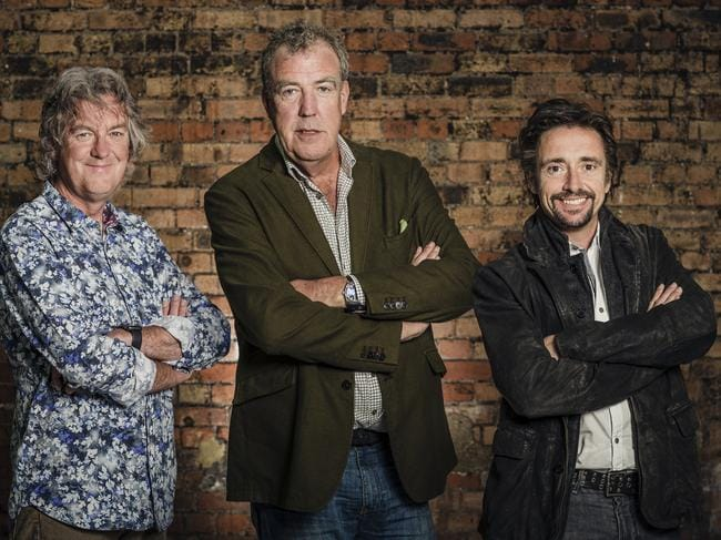 The Grand Tour's James May, Jeremy Clarkson and Richard Hammond.