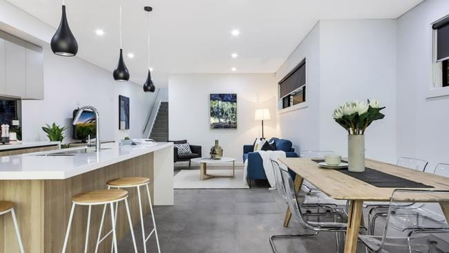 Homes new and old are being snapped up.