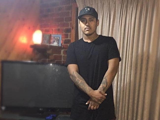 Teira Bennett, 21, is one of two men accused of trying to kill notorious crime lord Tony Mokbel at Barwon Prison. Picture: Facebook
