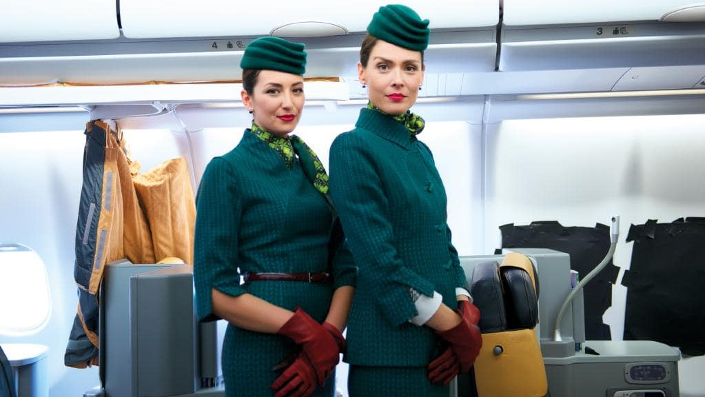 The World S Most Stylish Flight Attendants Escape