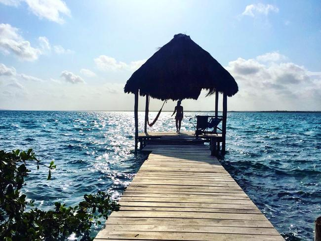Laguna Bacalar — worth heading off the beaten path. Picture: Alissa Jenkins
