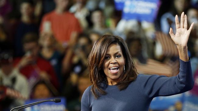 Michelle Obama is popular. There's no denying that.