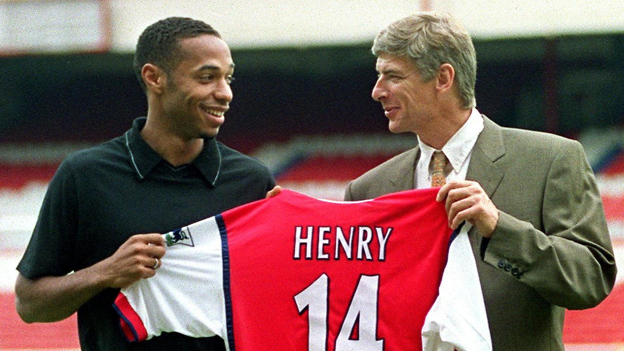 Wenger signed Thierry Henry in 1999 and the striker became a key member of the Invincibles.