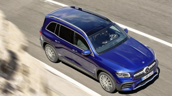 The GLB is built on the same platform as the A-Class hatch.