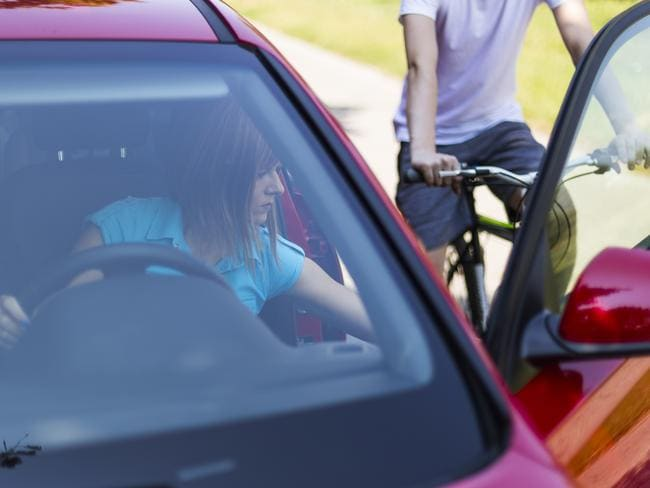 Opening a car door without looking poses a major risk to cyclists. Picture: iStock