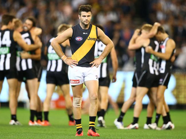 Trent Cotchin is again under the spotlight.