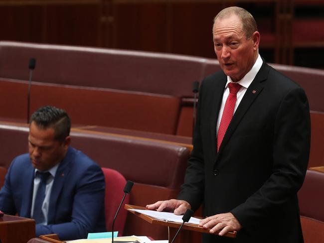 Senator Fraser Anning Picture: Fraser Anning Draws Fire With 'out Of Step' Maiden Speech