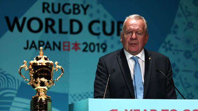 "World Rugby chairman Bill Beaumont is ""delighted"" to have Fox Sports on board."