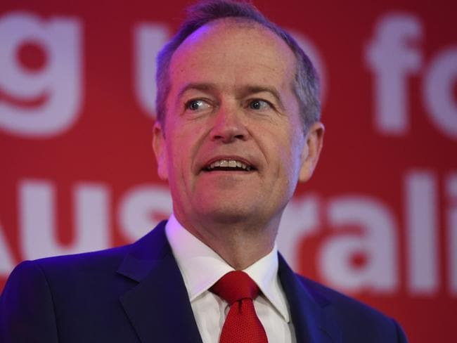 Labor leader Bill Shorten has gained ground on Malcolm Turnbull in terms of voter satisfaction. Picture: Tricia Watkinson.