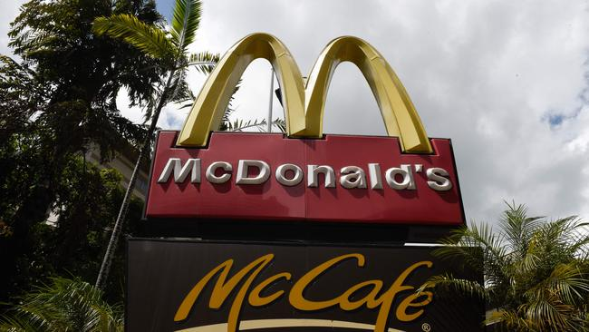 Macca's drop-offs have now been banned at Canley Vale Public School. Picture: AFP