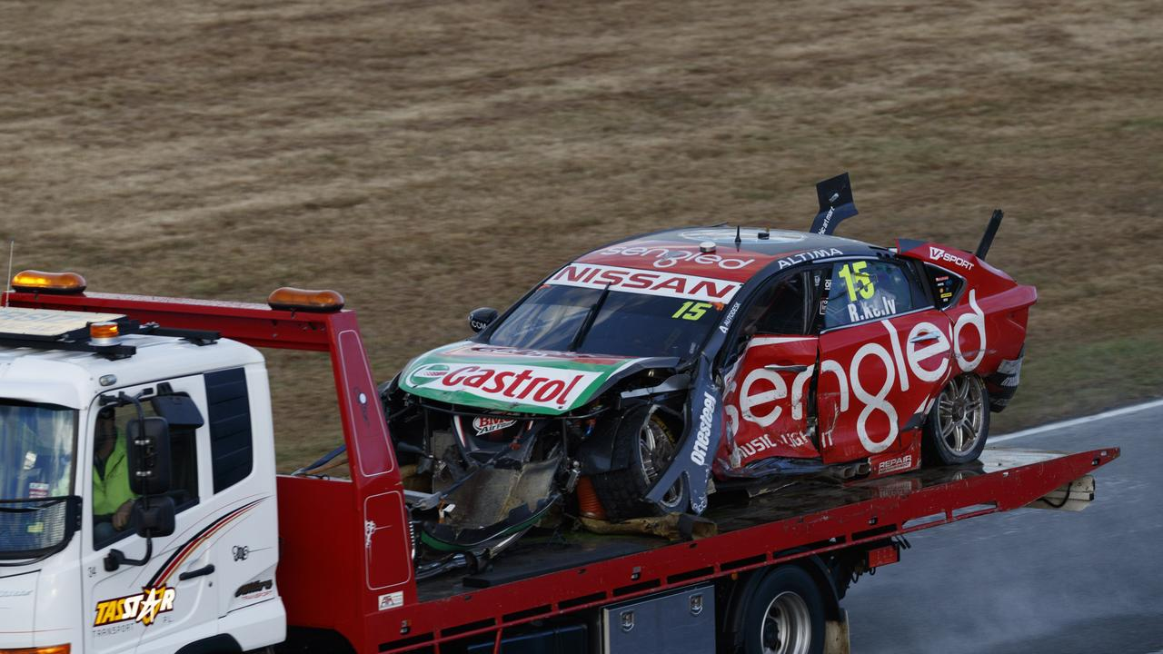 Rick Kelly was T-boned in the pile-up. Pic: Edge Photographics