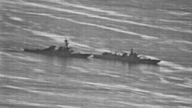 Just two months ago, shocking images exposed a near-collision between a US navy ship and a Chinese vessel in the South China Sea.