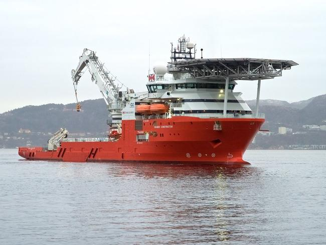 Ocean Infinity's Seabed Constructor is searching for MH370. Picture: Supplied