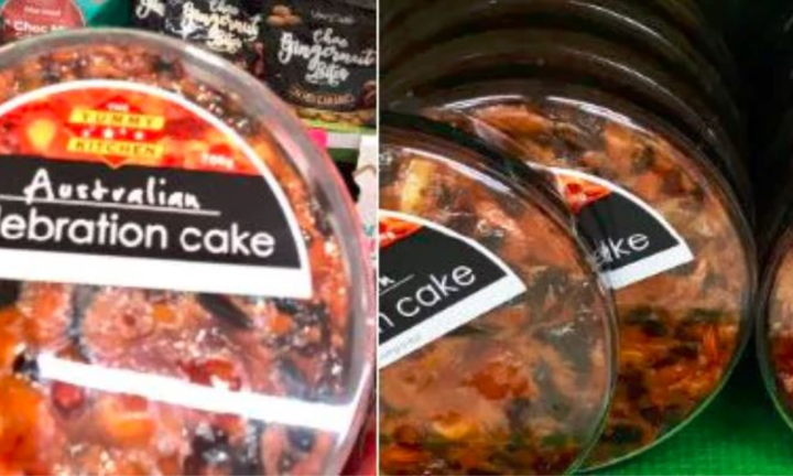 Truth about supposed 'offensive' Woolies humble fruit cake'