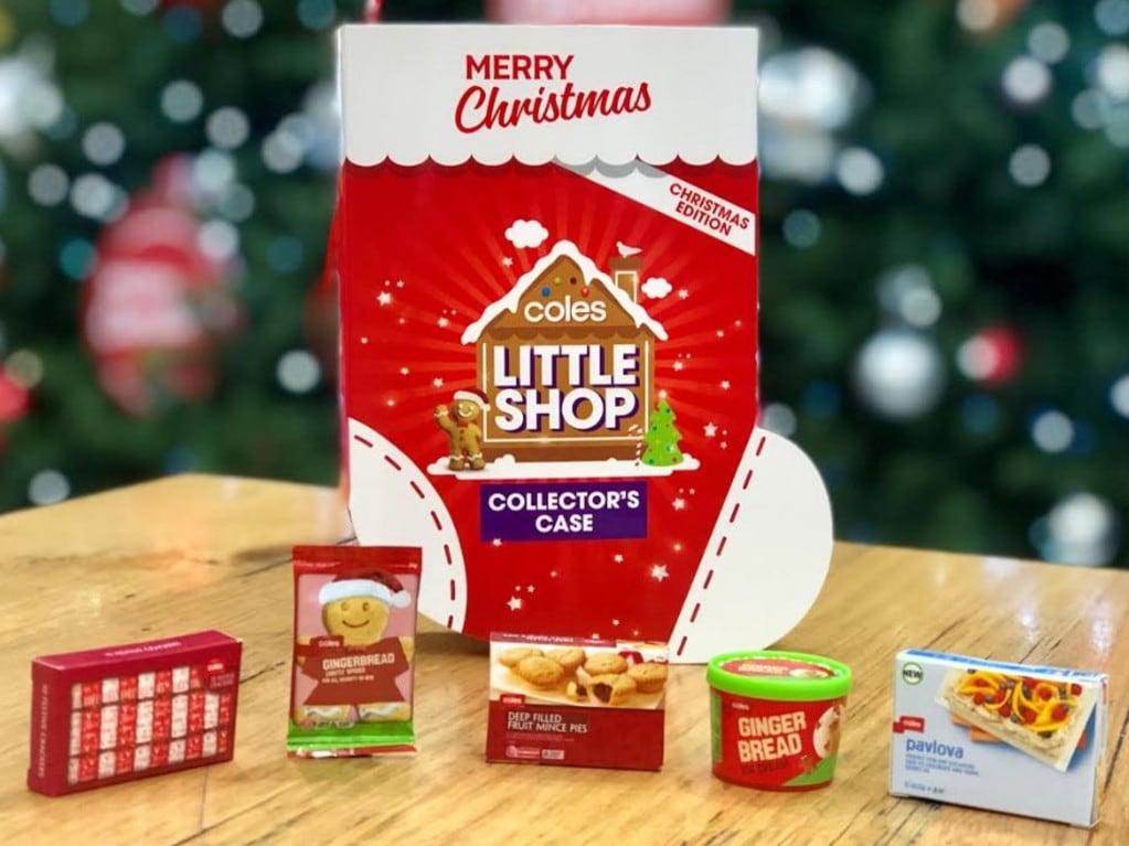 When Is Little Christmas.Coles Little Shop Christmas Edition Minis Herald Sun