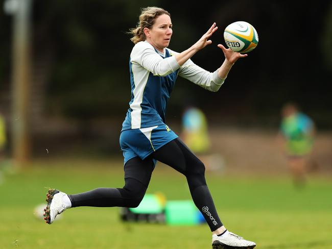 Wallaroos veteran Ash Hewson will compete at her third World Cup in Ireland. Pic: Brett Costello.