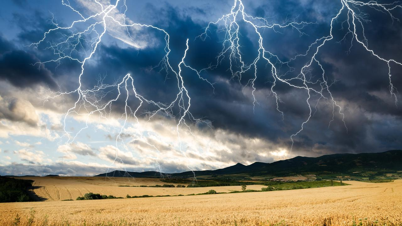 A single thunderstorm can produce many, many lightning strikes as electricity escapes from the clouds.